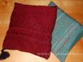 DSC_1072 polštářky- tkaný a pletený