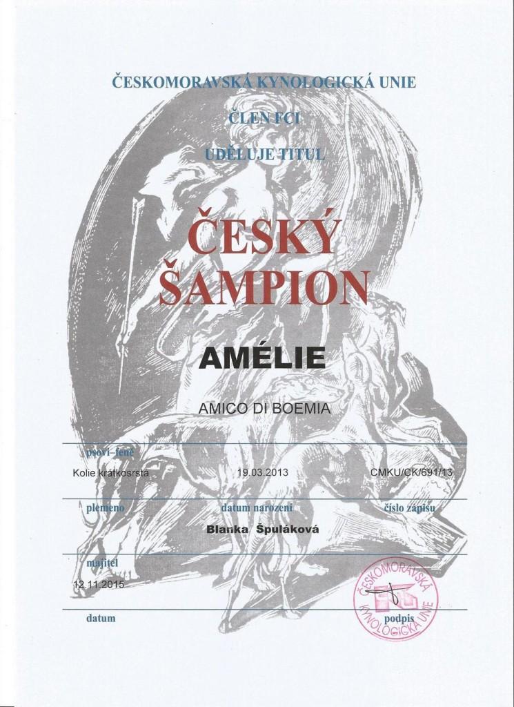 Český šampion A
